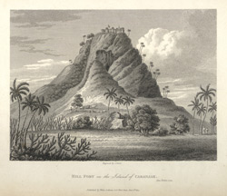 Hill Fort on the Island of Caranjah